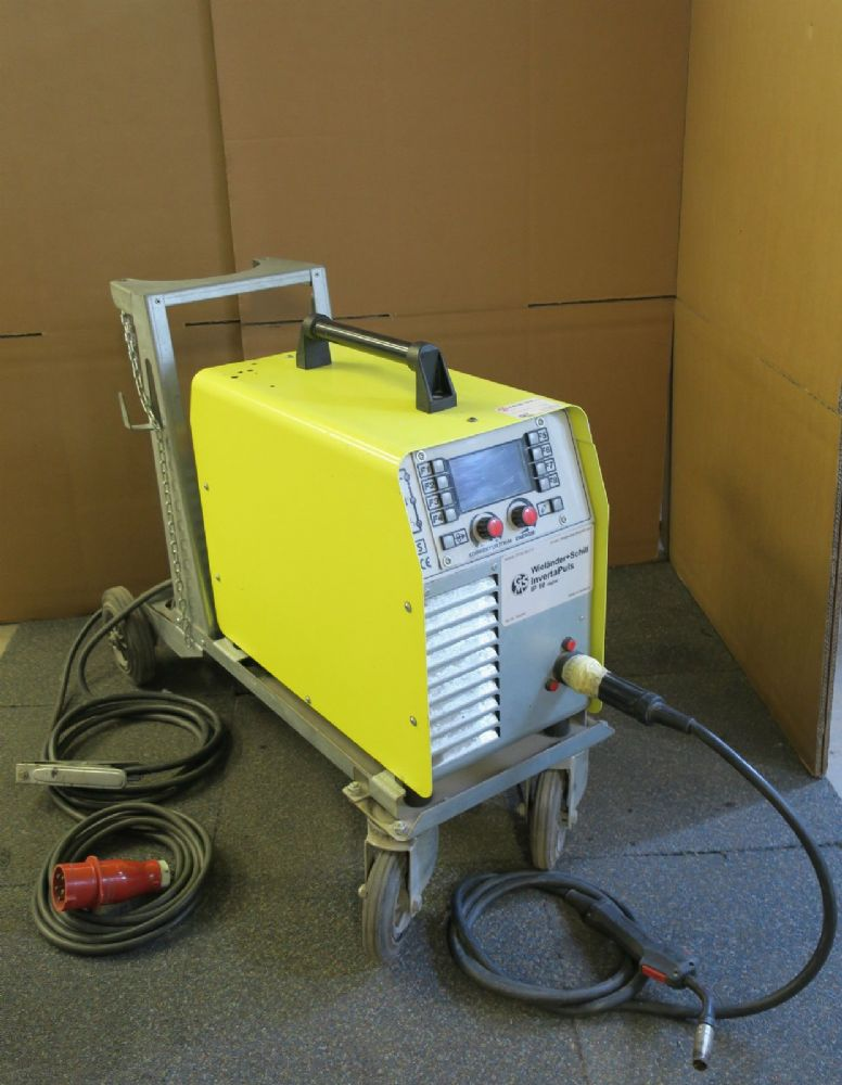 Wielander and Schill InvertaPulse IP10 Digital Arc Welder Vehicle Repair 331010